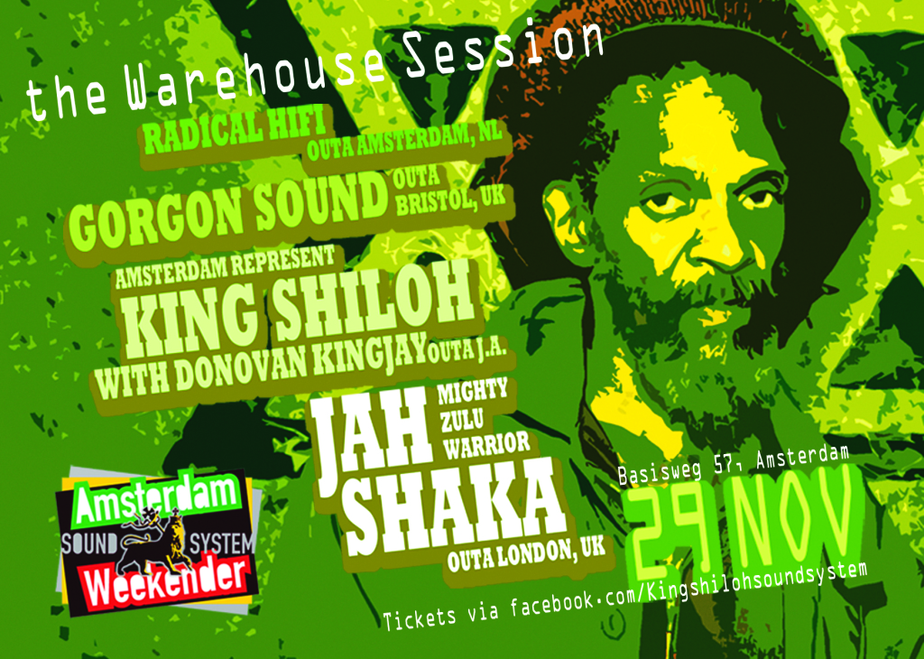King Shiloh Soundsystem Weekender Warehouse Session